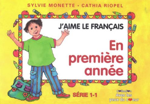 Turbo Book series: J'aime le français by Sylvie Monette and Cathia  MK91