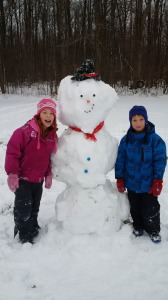 French snowman activities