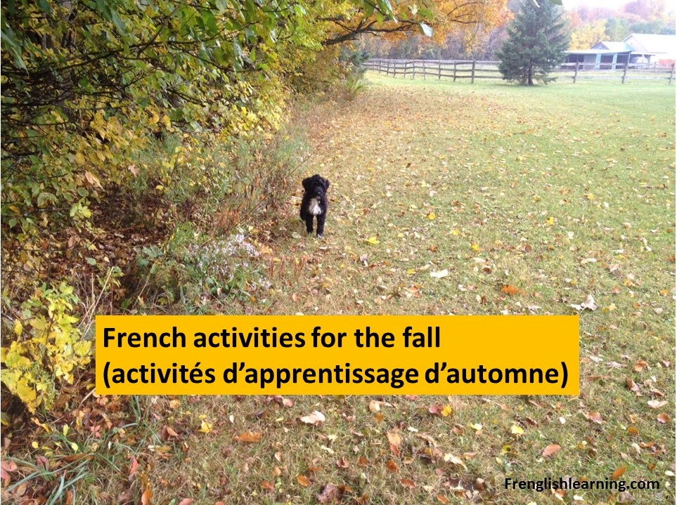 French activities for the fall