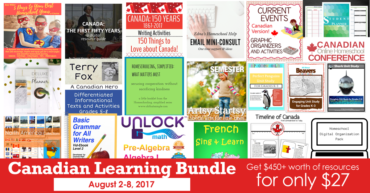 Canadian Learning Bundle