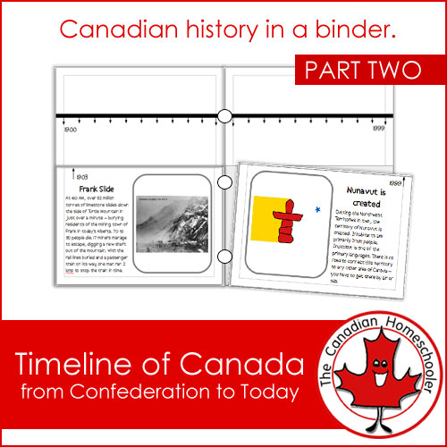 Canadian history timeline
